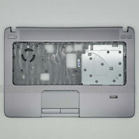 New Genuine For HP ProBook 440 G1 Palmrest Touchpad &FPR Port 721540-001