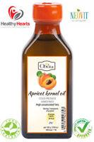 Apricot kernel oil cold pressed, unrefined 100 - Glass Bottle - Natural