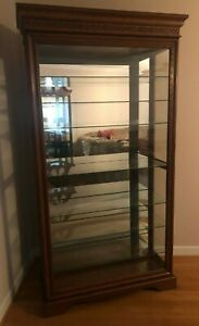PHILIP REINISCH,  CURIO CABINET, LIGHTED DISPLAY, TROPHY CASE, CHINA CABINET
