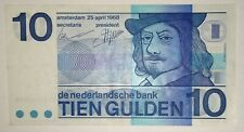 Niederlande Netherlands 10 Gulden 1968  P- 91b serial 5782062690