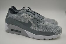 official photos 2a4c8 d1e86 Nike Air Max 90 Ultra 2.0 Flyknit Pure Platinum Cool Grey 875943-003 Mens