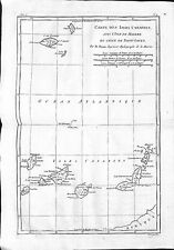 Antique maps, Carte des isles Canaries avec l'isle de Madere