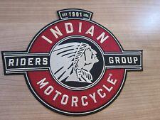 Indian Motorcycle Patch Rückenaufnäher IMRG Riders Group NEU! *SELTEN*