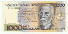 1988 BRAZIL 1000 CRUZADOS IN UNC CONDITION FANTASTIC LOOKING NOTE