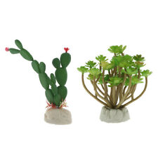 Terrarium Landscaping Decoration Fake Succulent Plants Reptile Case Decor