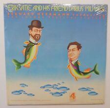 ERIK SATIE and his Friend DARIUS MILHAUD Sealed LP