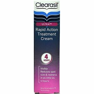 Clearasil Ultra Rapid Action Treatment Cream 25ml USE BY DATE 07/2014 BOXED