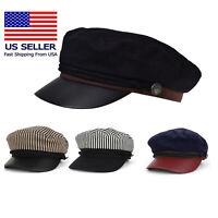Unisex Stylist Model Cotton Yachting Style Sailing Greek hat cap