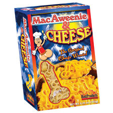 1 MacAweenie and Cheese macaroni pecker shaped pasta Hott Products shaft penis