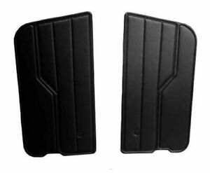 New For Jeep Wrangler YJ 1987-1995 Black Door Panels Front Left & Right