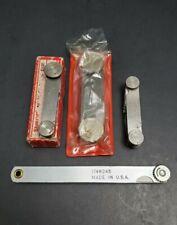 New&Used Inspection Set Starrett & Mitutoyo Radius Gage Feeler Machinist Gauge