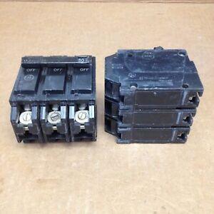 New Take Out GE THQL32030 3 Pole 30 Amp 240V Silk Screen Circuit Breaker