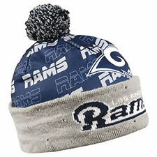 Forever Collectibles NFL Adult's Los Angeles Rams Light Up Printed Beanie