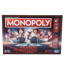 STRANGER THINGS MONOPOLY Board Game NEW Sealed FREE Shipping!! Netflix Show