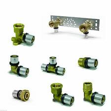 Fitting Press für Verbundrohr 16 mm Winkel, T, Bogen, Gewinde, Wandanschluss
