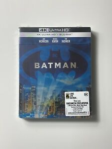 BATMAN - 1989 - (4K Ultra HD + Blu-Ray) - SteelBook