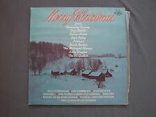 """LP 12"""" 33 rpm 1978 MERRY CHRISTMAS - Clooney Stuarti Helms Autry Liberace Vaughn"""