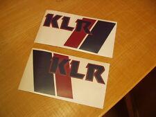 KLR600 Aufkleber Dekor Stickers Decals  KLR 600 A KL600A KL 600 1984, 1985