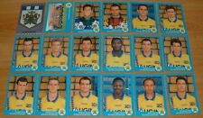 PANINI FOOT 96 FC GUEUGNON COMPLET FOOTBALL 1996 FORGERONS