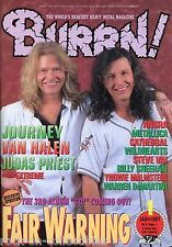 Burrn! Heavy Metal Magazine January 1997 Japan Fair Waring Angra Metallica