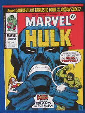 Marvel Comic - The Mighty World of Marvel - Incredible Hulk - Issue 177 - 1976