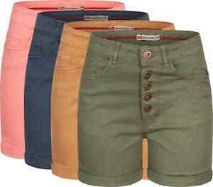 Geographical Norway Damen Shorts Kurze FVSS Hose Chino Sommer Bermuda Hotpants