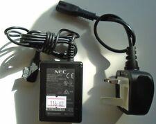 Genuine NEC Original Charger for e616 e616V c616 c616V e606 UK Plug
