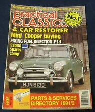 PRACTICAL CLASSICS & CAR RESTORER OCTOBER 1991 - MINI COOPER BUYING
