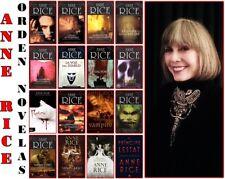 Anne Rice 19 Textos Digitales Y 2 Trilogías EPUB, KINDLE Español
