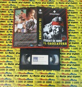 VHS film IL CACCIATORE Robert De Niro Meryl Streep DOMOVIDEO 26250 (F256) no dvd