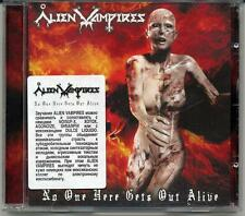 """Alien Vampires """"No One Here Gets Out Alive"""" CD, 2008"""