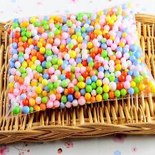 Lots Colorful Crafts Polystyrene Styrofoam Filler Foam Mini Beads Balls Hot
