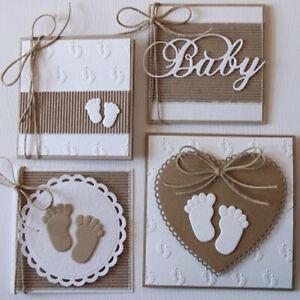 Baby Beautiful Lace Metal Cutting Dies Scrapbooking Card Making Embossing Craft