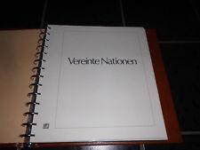 Safe Dual Vordruck UNO Wien 1979-1986 mit einigen Marken Postfrisch