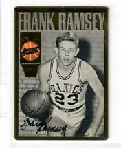 Frank Ramsey certified signed auto 1994 Action Packed Hall of Fame CELTICS