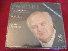 JON VICKERS - SCHUBERT: DIE WINTERREISE - PETER SCHAFF (2 CD 1992 USA NEW)