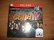 Twilight Scene it DVD juego de Trivia 100% completo buenas condiciones libres P + P