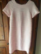 Women's Light Pink Stripy Shift Dress Size 6