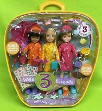 New Barbie Wee 3 Friends ~Rain Rain Rain Nrfb 2005 Mattel G8456