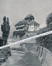 Schloss Frauenfeld in der Schweiz - um 1910 - selten!  O 9-9