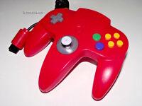Genuine Nintendo 64 N64 Red Controller Refurbed Toggle Original