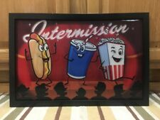 INTERMISSION POPCORN Home THEATER Tv Movie Room CINEMA COKE Candy 1