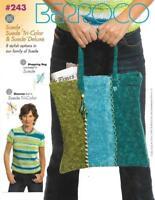 Berroco 243 Suede, Suede Tri-Color & Deluxe to Knit & Crochet 8 Designs