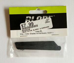 Blade BLH3216 MSR X Main Rotor Blades (Black) w/hardware MSRX / mSR S
