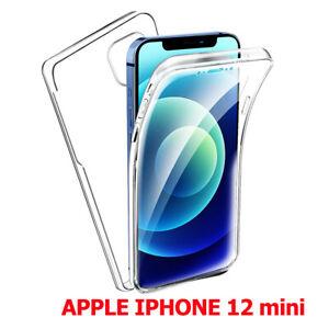 """Coque Housse protection 360° Avant et Arrière Apple iPhone 12 mini 5.4"""" A2399"""