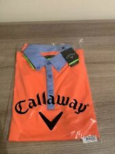 Callaway Golf Polo Shirt Fresh Salmon Slim Fit