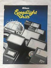 Nikon Speedlight units, Product Brochure