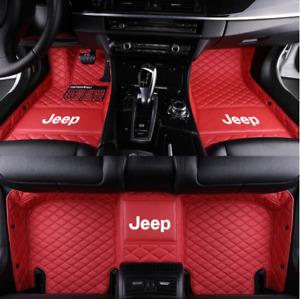 Car Floor Mat For JEEP Grand Cherokee Wrangler Renegade Cherokee Compass
