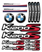 BMW K1200 S Laminated Motorrad Motorcycle Decal set 22 stickers K1200S /193