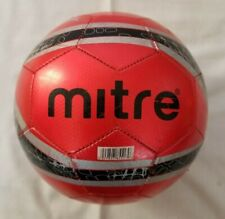 Mitre Cup Final Red Black Grey Size 5 Soccer Ball preowned